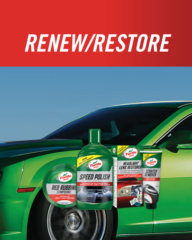 Turtle Wax renew-restore banner